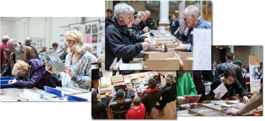 browse the vinyl & meet dealers face to face at a VIP record fair