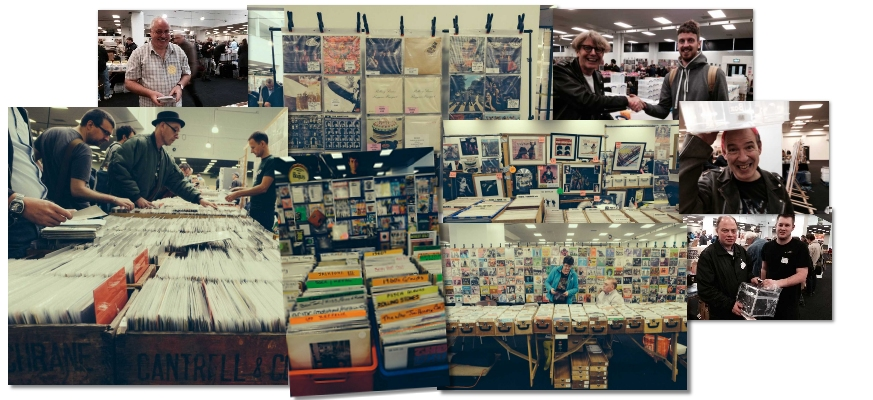VIP London Olympia Musicmania record fair