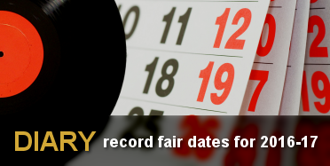Diary - record fair dates for 2016-17