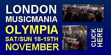 London Musicmania Olympia 18th-19th November 2017