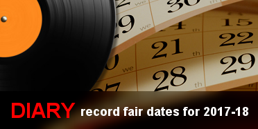 Diary - VIP Record Fair Dates for 2017-18