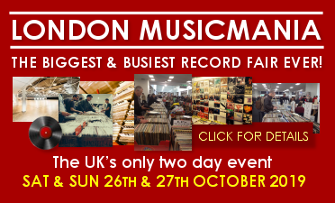 London Musicmania - The Biggest & Busiest Record Fair Ever!