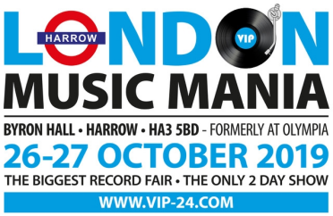 London MusicMania - 26th & 27th October 2019 - The Biggest Record Fair