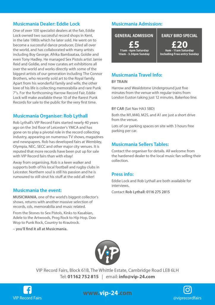 VIP MusicMania Press Release2