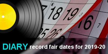 Diary - VIP Record fair dates for 2019-20