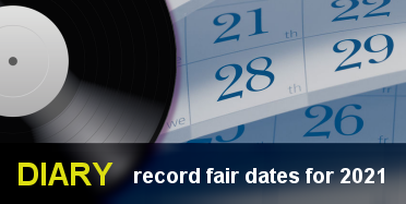 diary - record fair dates for 2021